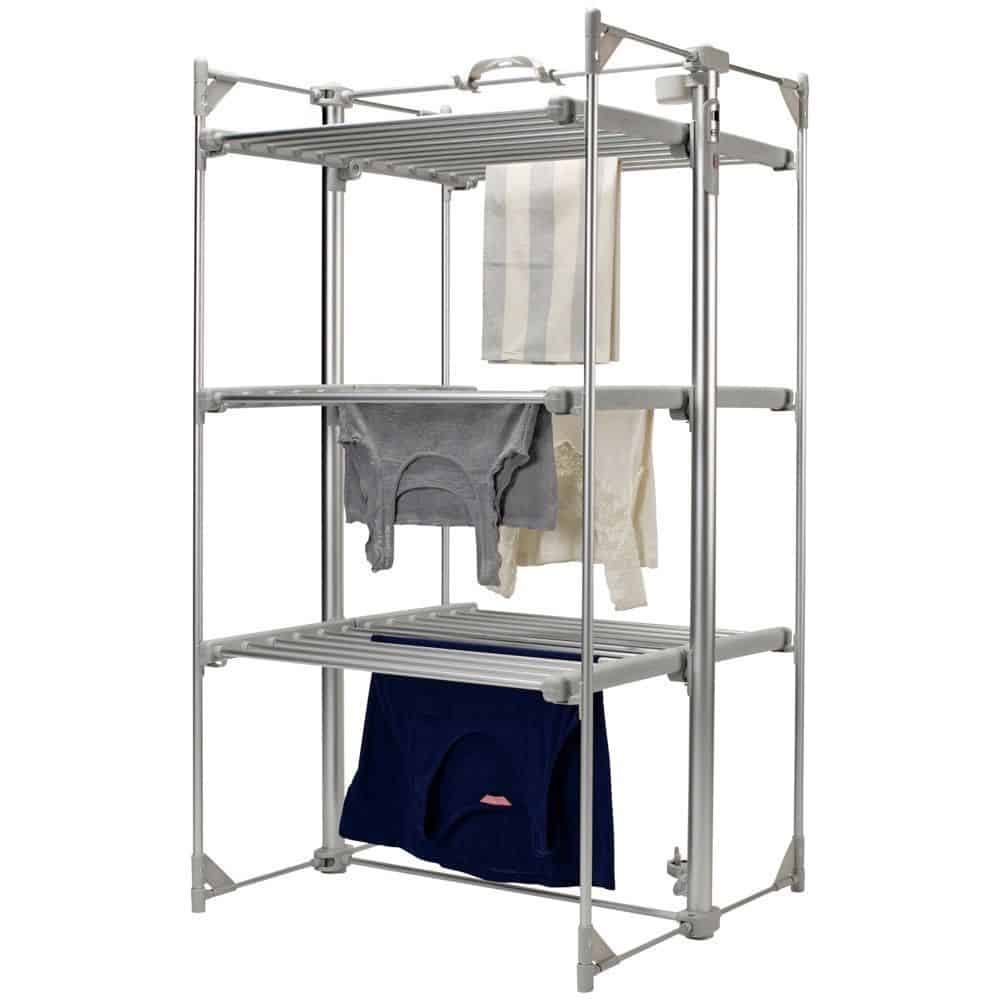 Dry Soon 3 Tier Heated Clothes Airer
